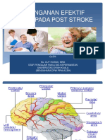 Penanganan Efektif Pada Post Stroke