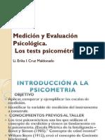 Medición y Evaluación Psicológica