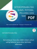 Presentasi SLIMS Dan Interoperabilitas SLiMS Commeet 2014