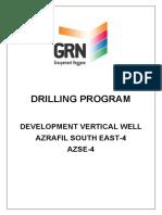 Drilling Program AZSE-4 v.1.1 SIGNED