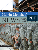 Melvin Mencher's News Reporting and Writing - Mencher, Melivin [SRG]