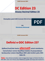 E-DDC Edition 23 & SLiMS