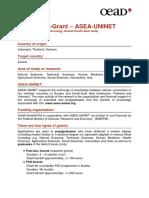 Info Ernst Mach Grant Asea Uninet