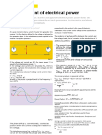 Measurement of Electrical Power