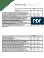Avaliação de Desempenho - Coordenador /Ensino Especial