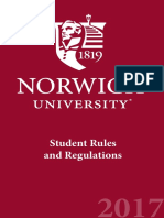 Student Rules Regs