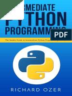 Imtermediate Python Programming
