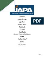 Matriz de Planificación Nivel Secundario en Blanco