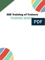 ESD ToT Training Manual