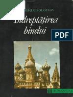 Vladimir Soloviov - Întreptățirea Binelui