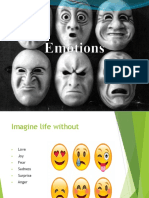 Week 8 Emotions