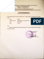 Surat Rekomendasi FITRI