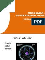 Materi 2 Kimdas - Sistem Periodik Unsur