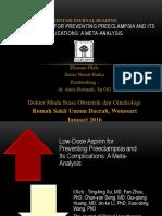 Presentasi Journal Reading preeklamsia