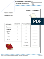 Problemes Avec Addition Multiplication Et Soustraction