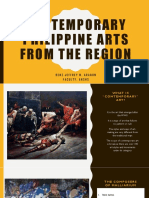 Contemporary Philippine Arts From the Region