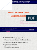 Modelo de Datos Diagrama de Clases Enero 2014