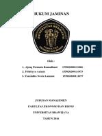 Kelompok 6-Hukum Komersial Bg-jaminan