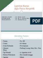 LAPSUS NEURALGIA POST HERPETIK.pptx