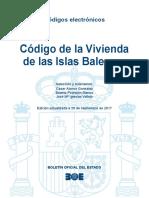 BOE-199 Codigo de La Vivienda de Las Islas Baleares