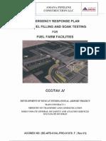 Emergency Response Plan for Fuel Filling Soak Testing - REVISED