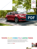 Catalogo Toyota Auris