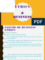 Part 1a-Ethics and Business 1