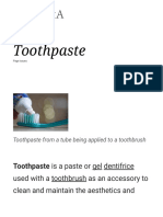 Toothpaste - Wikipedia