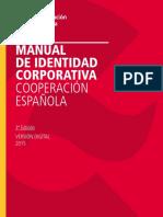 Manual Identidad Corporativa 2015