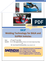Welding Technology- July 2nd & 3rd