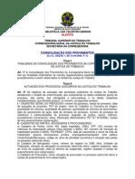 Consolidação dos Provimentos da Corregedoria-Geral da Justiça do Trabalho 2006