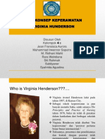 Ppt Virginia Henderson