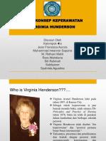 Ppt Virginia Henderson