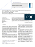 Identification, Prediction and Detection of the Process Fault in a Cement Rotary Kiln by Locally Linear Neuro-fuzzy Technique