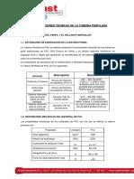 Especificaciones Tecnicas SR - Drenaje-500 S3
