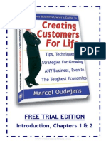 Creating Customers For Life - Marcel Oudejans (Trial Edition)