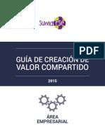 SUMARSE Guia Creacion de Valor Compartido 2015 Digital