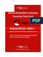 RHCSA_RHCE Prepartion Study Guide