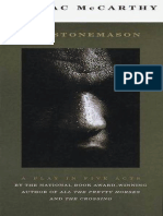 Cormac McCarthy - The Stonemason