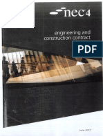 NEC4 Engineering and Construction Contract