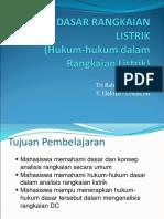 2. Hukum Rangkaian