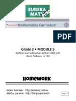 G2-M5 Student Homework