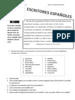 Escritores Españoles - Muñoz Molina y Nueva York