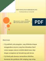 Ppt Metfar Uji Praklinik&Klinik