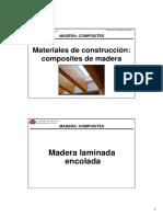 Madera Enoclada Laminada