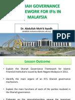 Shariah Audit - Lecture 4 (Sha Gov Fra)