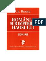 Gheorghe Buzatu - Romania sub imperiul haosului 1939 - 1945.pdf