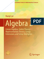 (Infosys Science Foundation Series) Ramji Lal (Auth.)-Algebra 2_ Linear Algebra, Galois Theory, Representation Theory, Group Extensions and Schur Multiplier-Springer Singapore (2017)