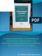 Crimen Organizado-dr.peña Cabrera