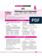 Imo Sample Paper Class-6